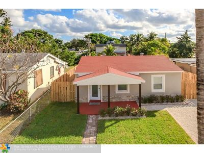 Fort Lauderdale Single Family Home For Sale: 1210 NW 1st Ave