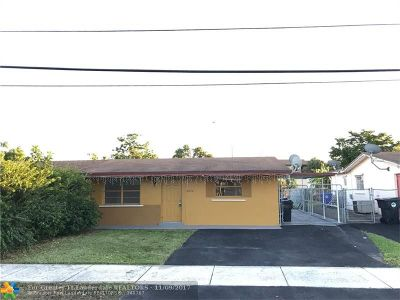 North Lauderdale Single Family Home Backup Contract-Call LA: 6852 SW 20th St