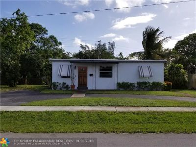 Pompano Beach Single Family Home For Sale