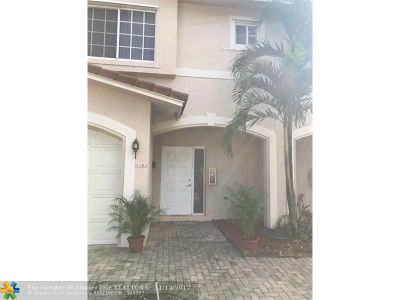 Coral Springs Condo/Townhouse Backup Contract-Call LA: 4403 NW 115th Ave #4403