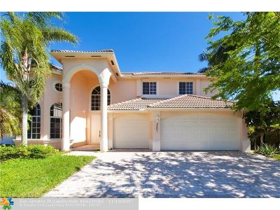 Coral Springs Single Family Home For Sale: 2561 NW 123rd Ter