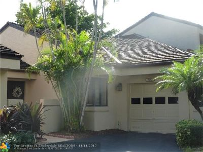 Plantation Condo/Townhouse For Sale: 9212 Chelsea Dr N #9212