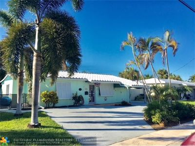 Fort Lauderdale Single Family Home For Sale: 1020 Citrus Isle
