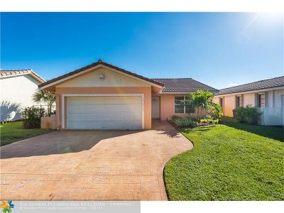 Coral Springs Single Family Home For Sale: 1071 NW 87th Ave