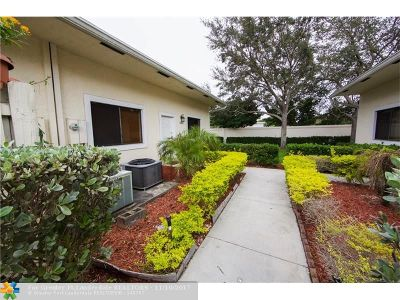 Sunrise Condo/Townhouse For Sale: 10265 NW 33 #10265