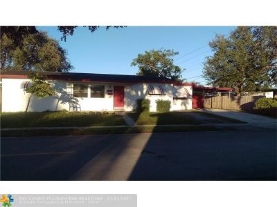 Hollywood Single Family Home For Sale: 7601 Raleigh St