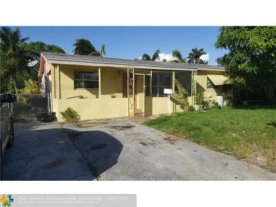 Oakland Park Single Family Home For Sale: 791 NW 38th St