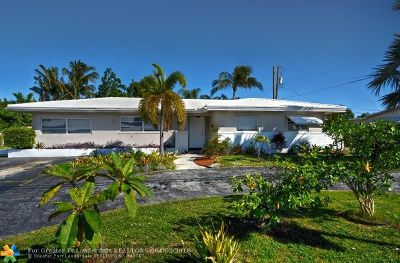 Pompano Beach Single Family Home For Sale: 1320 NE 27th Ave