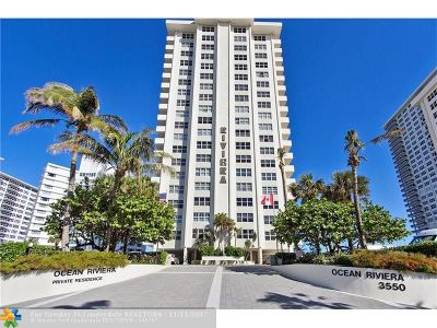 Fort Lauderdale Condo/Townhouse For Sale: 3550 Galt Ocean Drive #2008