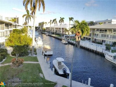 Fort Lauderdale Condo/Townhouse For Sale: 4770 Bayview Dr #307