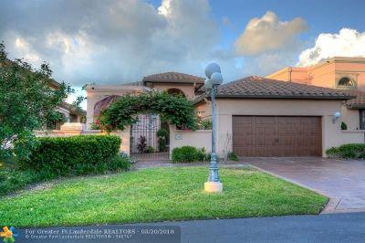 Deerfield Beach Single Family Home For Sale: 2969 Via Napoli