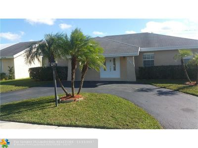 North Lauderdale Single Family Home Backup Contract-Call LA: 7440 SW 14th Pl
