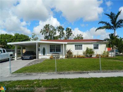 Pompano Beach Single Family Home Backup Contract-Call LA