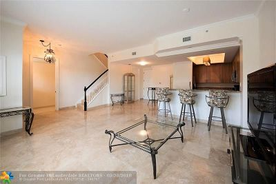 Wilton Manors Condo/Townhouse For Sale: 2625 NE 14th Ave #116