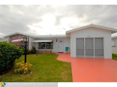 Pompano Beach Single Family Home For Sale: 3031 NW 1st Dr