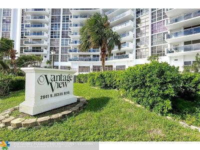Fort Lauderdale Condo/Townhouse For Sale: 2841 N Ocean Blvd #705