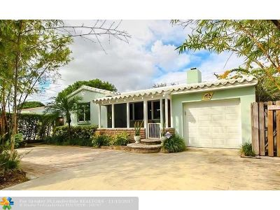 Fort Lauderdale Single Family Home For Sale: 1309 NE 15th Ave