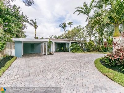Wilton Manors Single Family Home For Sale: 333 NE 27th Dr