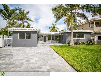 Fort Lauderdale Single Family Home For Sale: 1775 NE 21st St