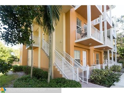 Fort Lauderdale Condo/Townhouse For Sale: 1304 SW 4th St #1304