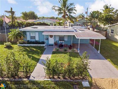 Fort Lauderdale Single Family Home For Sale: 820 NE 14th St