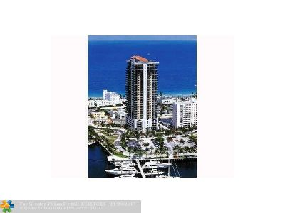 Broward County Condo/Townhouse For Sale: 100 S Birch Rd #803