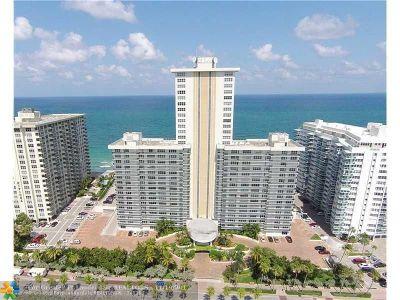 Fort Lauderdale Condo/Townhouse For Sale: 3500 Galt Ocean Dr #311