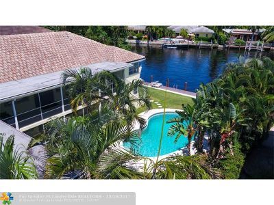 Fort Lauderdale Condo/Townhouse For Sale: 1308 Bayview Dr #2B