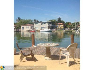 Miami Beach Multi Family Home For Sale: 8430 Byron Ave