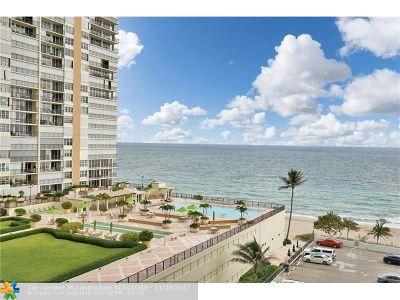 Fort Lauderdale Condo/Townhouse For Sale: 4250 Galt Ocean Dr #7g