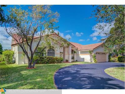 Coral Springs Single Family Home Backup Contract-Call LA: 5344 N Springs Way