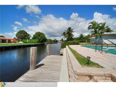 Fort Lauderdale Single Family Home For Sale: 2020 NE 65th St