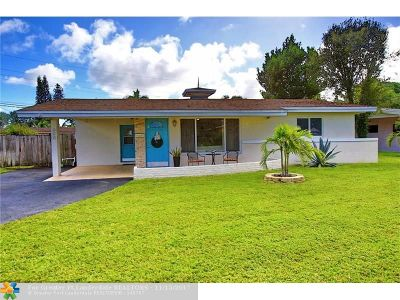 Margate Single Family Home For Sale: 600 SW 51st Ave