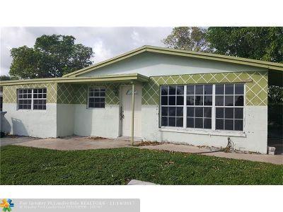 Pompano Beach Single Family Home Backup Contract-Call LA: 701 NW 20th St