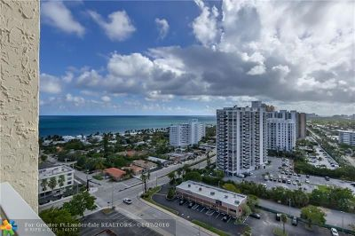 Fort Lauderdale Condo/Townhouse For Sale: 3015 N Ocean #18K