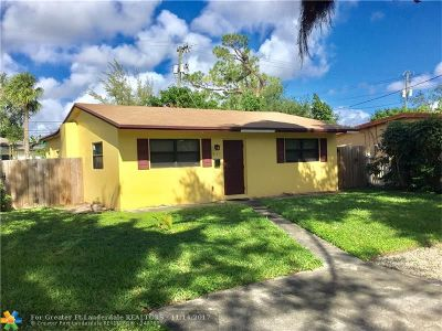 Fort Lauderdale Single Family Home For Sale: 3111 SW 14th St