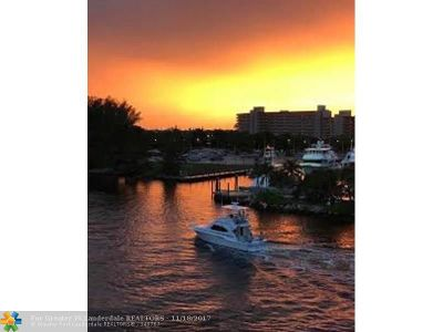 Pompano Beach Condo/Townhouse For Sale: 1609 N Riverside Dr #504
