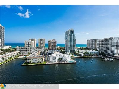 Hallandale Condo/Townhouse For Sale: 121 Golden Isles Dr #RGN