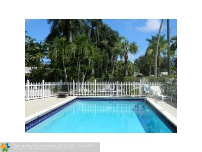 Fort Lauderdale Condo/Townhouse Backup Contract-Call LA: 417 NE 17th Ave #5