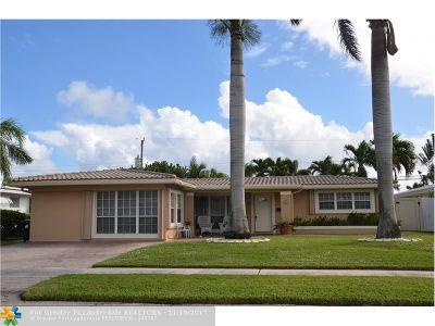 Fort Lauderdale Single Family Home For Sale: 5910 NE 21st Ln