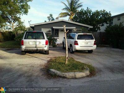 Delray Beach Multi Family Home For Sale: 1619 NE 3rd Ave