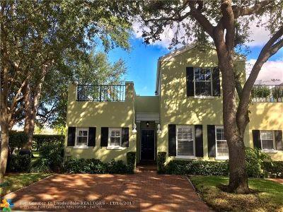Boca Raton Condo/Townhouse For Sale: 5913 Bartram St #5913