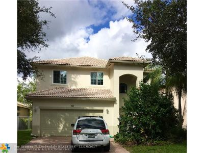 Coconut Creek Single Family Home For Sale: 5021 Heron Place