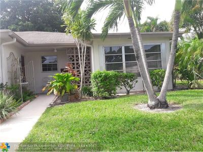 Delray Beach Condo/Townhouse For Sale: 1422 High Point Way #D