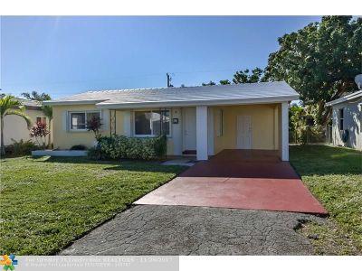 Broward County Single Family Home For Sale: 240 NE 42nd Ct