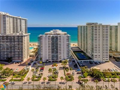 Fort Lauderdale Condo/Townhouse For Sale: 3430 Galt Ocean Dr #1401