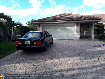 Coral Springs Rental For Rent: 8885 NW 57th Ct