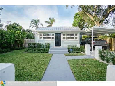 Fort Lauderdale Single Family Home For Sale: 505 SW 6th St