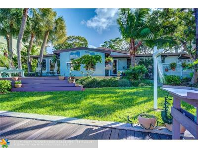 Fort Lauderdale Single Family Home For Sale: 1715 SE 14th St
