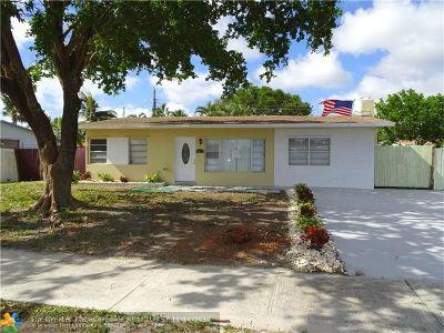 Pompano Beach Single Family Home For Sale: 2611 NE 8th Ave